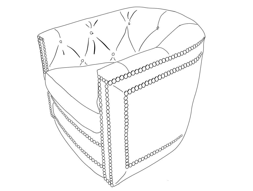 Barrel-Chair-Line-Drawing